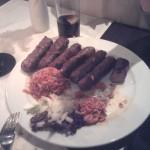Chiwapchichi und Reis auf Teller