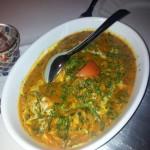 Tadsch Mahal Curry Huhn Gericht