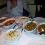 Tadsch Mahal gedeckter Tisch