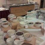 Damp Buffet Müsli Nüsse