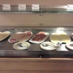 Damp Buffet Wurst Käse