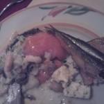 Damp Essen Fisch Sprotte Lachs