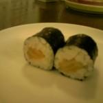 Sushi mit Rettich